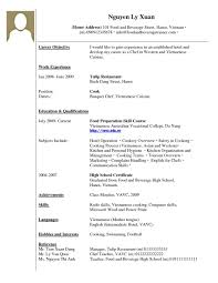 Resume Free Sample Cv Marketing Cover Letter Resume Template