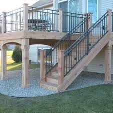 Porch Deck Design Ideas, Pictures, Remodel, and Decor - page 110 - LIke how  the stairs are in line with the deck