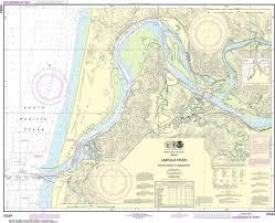 Noaa Nautical Chart 18584 Umpqua River Pacific Ocean To Reedsport