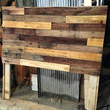 reclaimed wood headboard how to build your own pallet in a few simple steps create diy reclaimed wood headboard best ideas