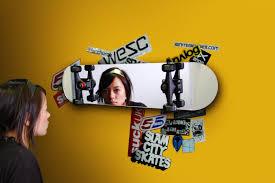 Skater Bedroom Skateboard Mirror Suck Uk