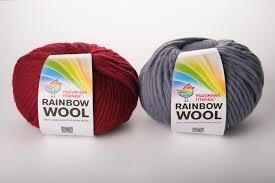 <b>Пряжа Rainbow</b> Wool из перуанской шерсти
