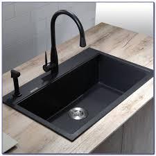 marvelous design composite kitchen sinks ideas black composite