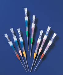 透析針のゲージ数と直径と流量