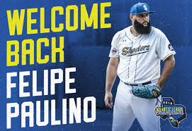 Skeeters Re-Sign Former Major League RHP Felipe Paulino