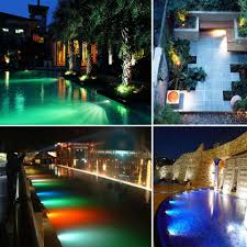 Rgb Led Landscape Lighting 10w Rgb Garden Light Waterproof Outdoor Lighting Rgb Led Lawn Light Remote Control With Spike For Yard Patio Path Spotlight