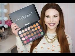 jaclyn hill favorites palette w morphe brushes review swatches beautybuzzhub mannymua makeup geek