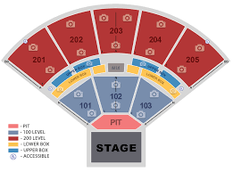 Seating Map The Brandon Amphitheater