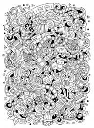 Doodle Art Free Printable Coloring Pages For Kids