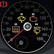 64 warning lights on your dashboard