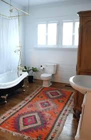 blue and tan bath rugs bathroom rug first house large bathrooms tubs