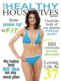 Healthy Housewives May 2012 Covergirl Brooke Berryhill   Skinny ...