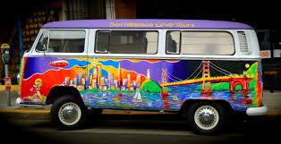 Hippie Buses San Francisco City Tours San Francisco Love Tours