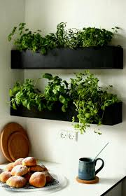 indoor planter box herb garden best kitchen wall decor ideas and designs for homebnc