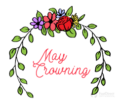 Image result for may crowning