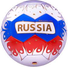 """<b>Мяч</b> футбольный <b>Jogel</b> """"<b>Russia</b>"""", цвет: белый, синий, красный ..."""