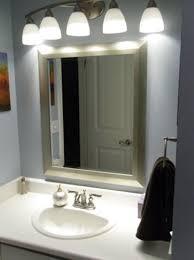 lighting over bathroom mirror. Lights Over Bathroom Mirror Inspiring Design More Image Ideas Lighting L