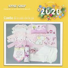 Combo đồ sơ sinh cho bé - Annie shop