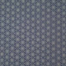 Sashiko Patterns Adorable Blue Japanese Cotton Fabric Asanoha Sashiko Patterns Made In Japan