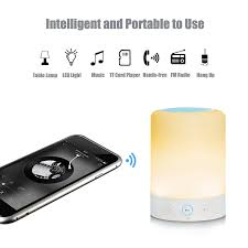 Kanstar Bluetooth Speaker Smart Touch Color Changing Magic Lamp