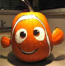 Finding Nemo Pumpkin...these are the BEST Carved & Decorated Pumpkin ideas  for