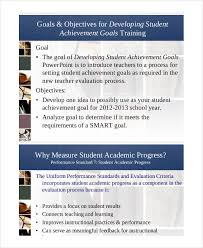 Performance Objectives Examples Extraordinary 44 Smart Goals Examples Samples PDF DOC