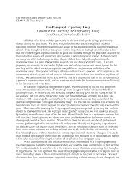 how to write expository essays  essay example expository essay examples