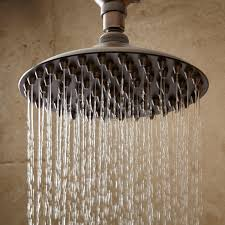 shower head images. Bostonian Rainfall Nozzle Shower Head With S-Type Arm - Oil Rubbed Bronze Images