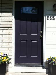 Tricorn Black Sherwin Williams Painted The Front Door Black Swan By Sherwin And Williams