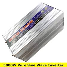 <b>Peak Power 5000W</b> Pure Sine Wave <b>OFF</b> Grid Inverter DC12V/24V ...