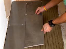 Cement Over Tile Countertops How To Install A Plank Tile Floor How Tos Diy