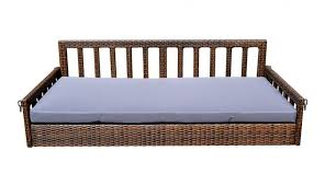 large size of round patio custom swing crib furniture rope mattress garden wood daybed cover cushions