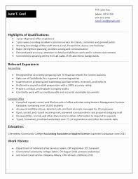 Sample Resume For College Students Mock Resume Templates Example