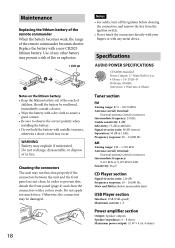 sony cdx gtu usb operating instructions cdx gt40u