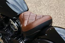 mustang touring solo seat for scout bobber