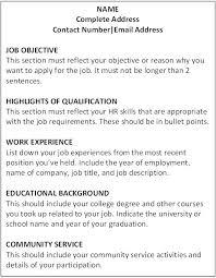 people skills on resume