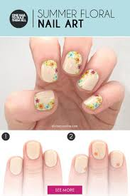 Easy Floral Nail Art to Try This Summer | more.com