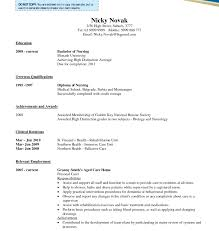 Comfortable Resume Registered Nurse Philippines Pictures