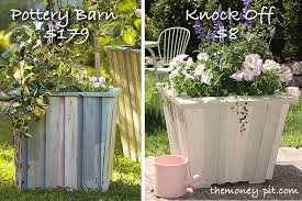 I was browsing through my Pottery Barn catalog and fell in love with this  reclaimed wood planter set. I have actually been looking for a large planter  for ...