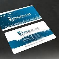 Design A Modern Business Card Design For A Church Called High Church