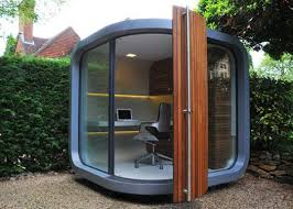 office in the garden. Garden Office Pod - (outdoor Offices) In The