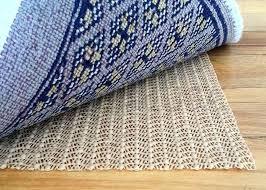 anti slip under rug pad backing grip best non