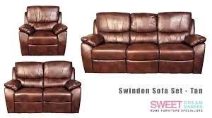 saddle leather loveseat recliner lovely tan reclining sofa and power w awesome or set couch saddle leather recliner