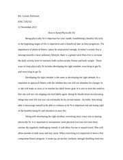 why i enjoy cheerleading essay nwanaji professor garner eng  2 pages staying physically fit essay