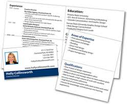 portable mini resume