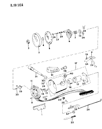 1989 jeep anche housing steering column upper thumbnail 1