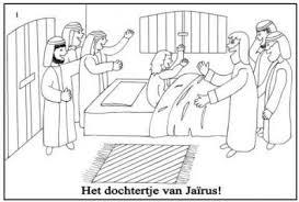 Jezus Heeft Het Dochtertje Van Jairus Genezen Juf Bijbelverhalen