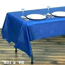 party printing blue plastic tablecloth gingham vinyl