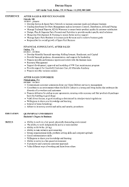 Financial Consultant Job Description Resume After Sales Resume Samples Velvet Jobs 98