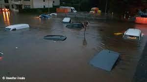 destructive flooding that hit Germany ...